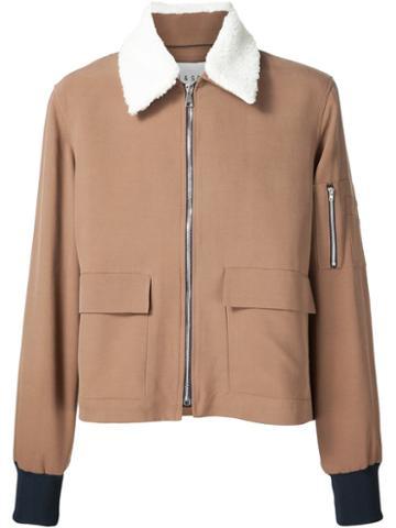 Agi & Sam Pocket Detail 'harrington' Jacket
