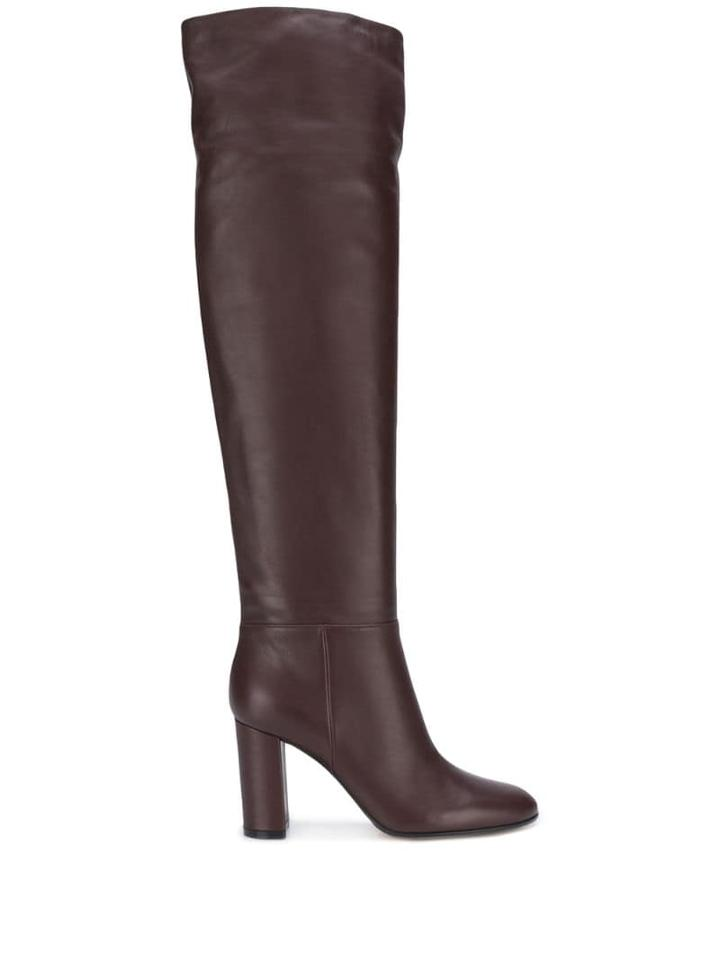 Gianvito Rossi Knee-length Boots - Red