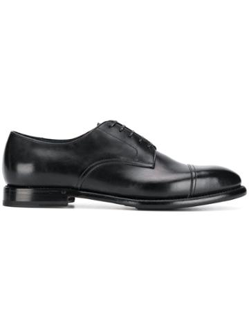 Silvano Sassetti Classic Oxfords - Black