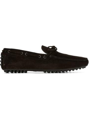 Car Shoe Classic Driving Shoes - Brown