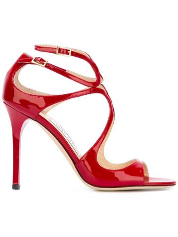 Jimmy Choo Lance Sandals - Red