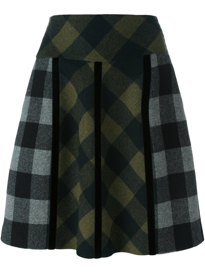 Etro Checked Skirt