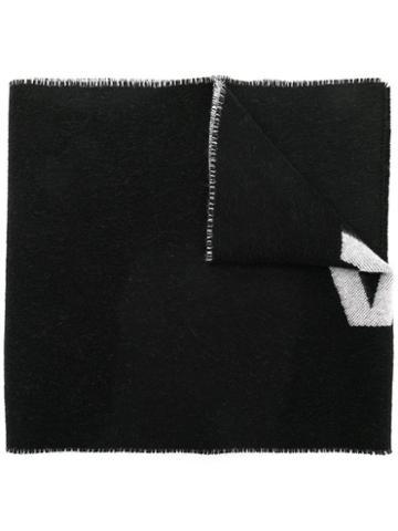 Balenciaga Balenciaga Macro Scarf - Black