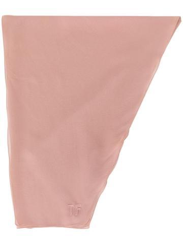 Tom Ford Head Wrap Scarf - Pink