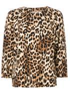 Alberto Biani Leopardprint Top - Multicolour