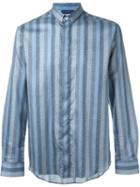 Etro Dotted Stripe Print Shirt
