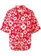 Marni Hawaiian Shirt - Red