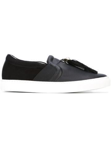 Lanvin Tassel Detail Slip-on Sneakers