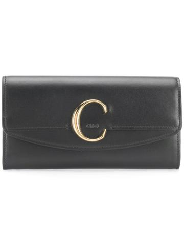 Chloé Chloé C Wallet - Black