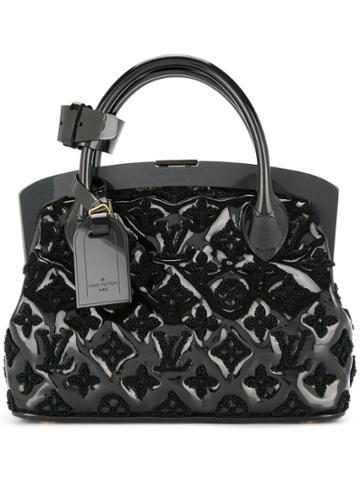 Louis Vuitton Vintage Lockit Bb Hand Bag - Black