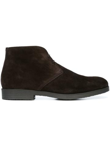 To Boot New York Boston Ankle Boots - Brown