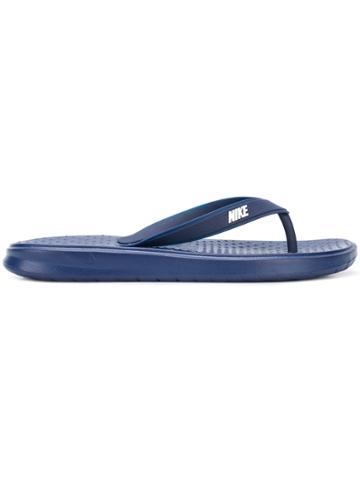 Nike Solay Flip Flops - Blue