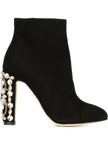 Dolce & Gabbana Embellished Heel Boots