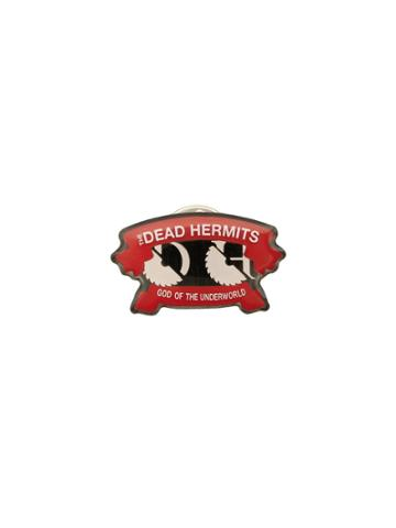 Undercover The Dead Hermits Pin - Red