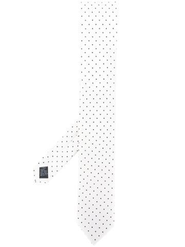 Dolce & Gabbana Polka Dot Print Tie - White