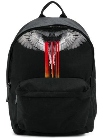 Marcelo Burlon County Of Milan Wings Backpack - Black