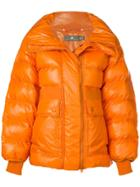 Adidas By Stella Mccartney Oversized Padded Jacket - Yellow & Orange
