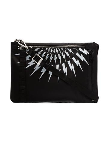 Neil Barrett Sacoche Cross Body Bag - Black