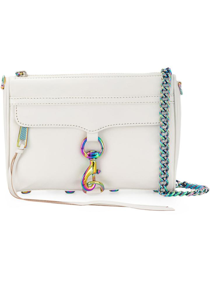 Rebecca Minkoff Small Mac Crossbody Bag - White