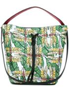 Furla Insect Print Tote, Women's, Calf Leather