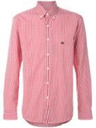 Etro Gingham Buttondown Shirt - Red