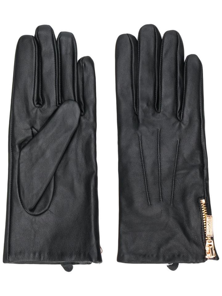 Barbour Zip-fastening Gloves - Black