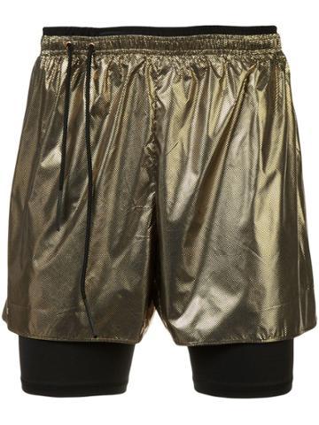 Siki Im Workout Shorts - Yellow & Orange