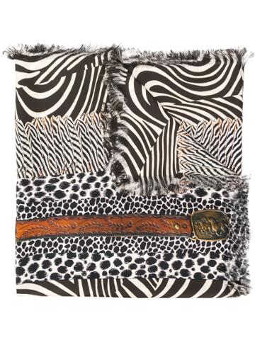 Pierre-louis Mascia Printed Silk Scarf - Black