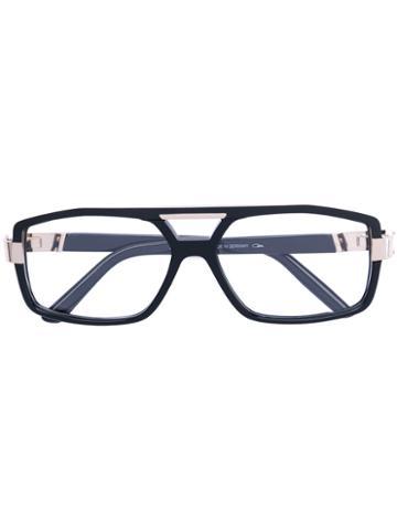 Cazal - Squared Glasses - Men - Acetate/titanium - 58, Black, Acetate/titanium