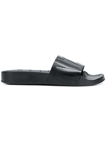 Jimmy Choo Rey Slides - Black