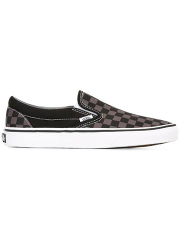 Vans Checked Slippers - Grey