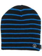 Undercover Striped Beanie Hat - Black