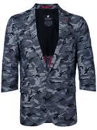 Loveless - Camouflage Blazer - Men - Cotton - 1, Grey, Cotton