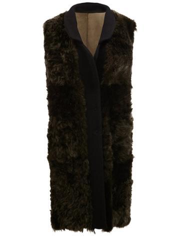 Drome Textured Sleeveless Coat
