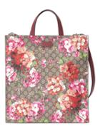 Gucci - Soft Gg Blooms Tote - Men - Leather/canvas/microfibre - One Size, Brown, Leather/canvas/microfibre