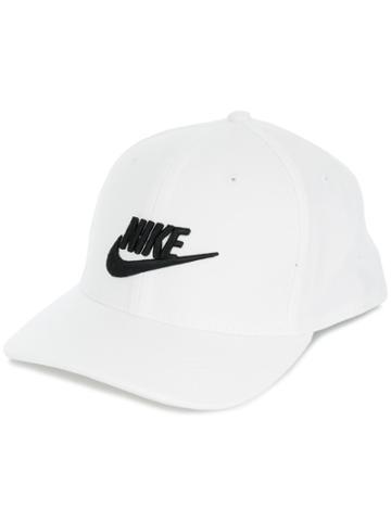 Nike Embroidered Logo Cap - White