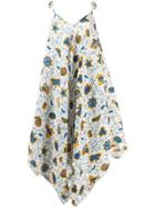 Loewe Asymmetric Hem Dress - White