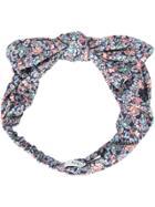 Maison Michel Floral Print Headband - Multicolour