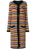 Etro Long Striped Cardigan - Multicolour