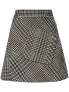 Etro Houndstooth Pattern Skirt - Multicolour