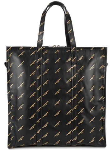 Balenciaga - Bazar Tote - Women - Leather - One Size, Black, Leather