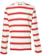 Stella Mccartney Striped Polo Shirt - White