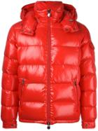 Moncler Maya Padded Jacket - Red