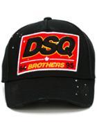 Dsquared2 Brothers Baseball Cap - Black