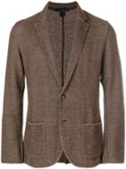 Lardini Knitted Blazer - Brown