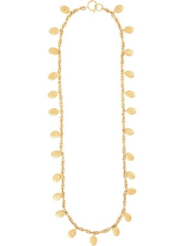 Chanel Pre-owned Dangling Medallions Long Necklace - Gold