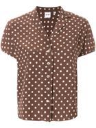 Aspesi Polka Dot Shirt - Brown