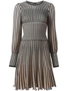Alexander Mcqueen Stripe Knit Dress