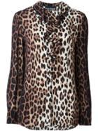 Boutique Moschino Leopard Print Blouse