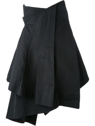 Aganovich Ruffled Asymmetric Skirt